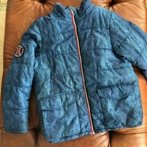 Tommy Hilfiger Puffer Coat Fleece Lining Crest L